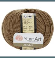 Пряжа YarnArt Jeans Цвет.40 Коричневый