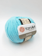 Пряжа YarnArt Jeans Цвет.76 Айсберг