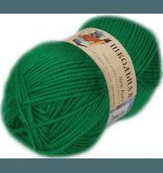 Пряжа Пехорка Школьная Цвет.480 Яркая зелень