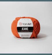 Пряжа YarnArt Jeans Цвет.85 Морковный