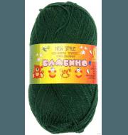 Пряжа Камтекс Бамбино Цвет.110 Зеленый