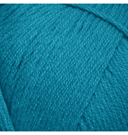 Пряжа Пехорка Хлопок натуральный Цвет.583 Бирюза