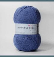 Пряжа Пехорка Ангорская теплая Цвет.39 Серо-голубой