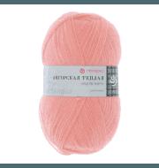 Пряжа Пехорка Ангорская теплая Цвет.265 Розовый персик