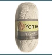 Пряжа YarnArt Begonia Цвет.3000 Суровый