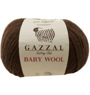 Пряжа GAZZAL Baby Wool Цвет.807