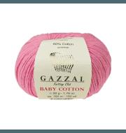 Пряжа GAZZAL Baby Cotton Gazzal Цвет.3468