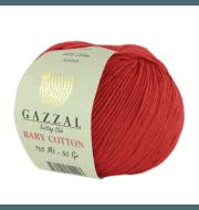 Пряжа GAZZAL Baby Cotton Gazzal Цвет.3443