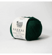 Пряжа GAZZAL Baby Cotton Gazzal Цвет.3467