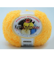Пряжа Color City Кузя Клубочкин Цвет.14 желтый