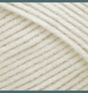 Пряжа YarnArt Jeans Цвет.03 Молочный