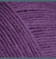 Пряжа YarnArt Jeans Цвет.50 Фиолетовый
