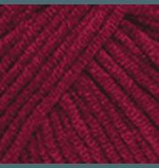 Пряжа YarnArt Jeans Цвет.66 Бордовый