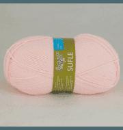 Пряжа Семеновская  Суфле Цвет.54025 Розовый-new